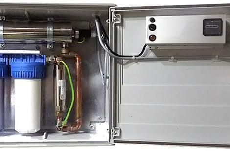Mfar ScaleBuster con ultravioleta para potabilizar agua de pozo